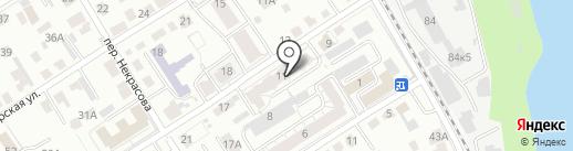 Обское, ТСЖ на карте Барнаула