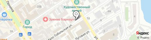 Строительная комплектация 191 на карте Барнаула
