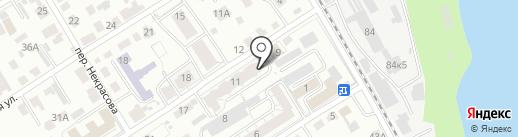 Грундфос на карте Барнаула