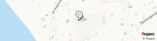 АК Северо-Восточное ДСУ, ГУП на карте Бобровки