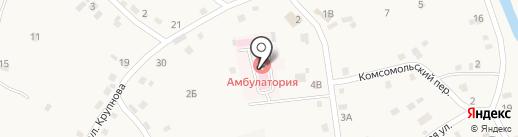 Бобровская амбулатория на карте Бобровки