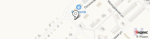 Удачный на карте Горного