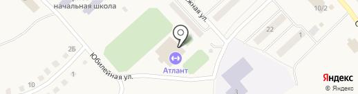 Горновская спортивная школа на карте Горного