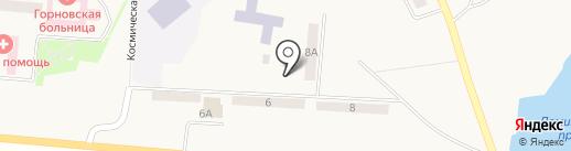 Магазин продуктов на карте Горного