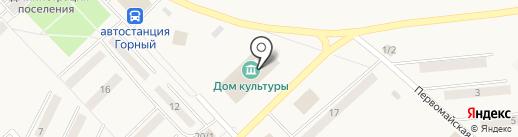 Детская библиотека на карте Горного
