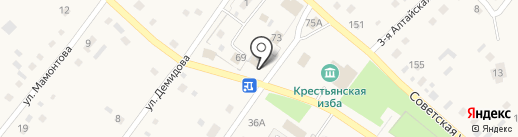 Габарит на карте Бобровки
