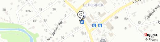 На Чайной на карте Новоалтайска