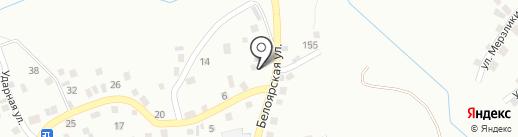 Магазин ритуальных принадлежностей на карте Новоалтайска