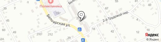 Лаванда на карте Новоалтайска