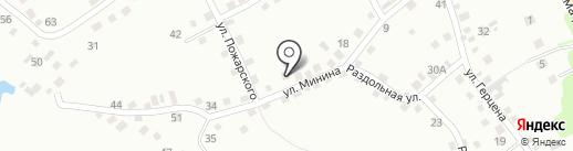Почтовое отделение №9 на карте Новоалтайска