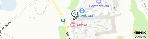 Гидравлика на карте Новоалтайска