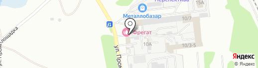 Фрегат на карте Новоалтайска