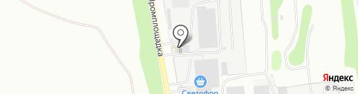 Дорожник на карте Новоалтайска