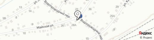 Продуктовый магазин на карте Новоалтайска