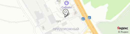 Спецстоянка на карте Новоалтайска