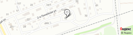 Алтайский пакет на карте Новоалтайска