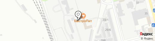 Форест на карте Новоалтайска