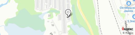 Чиков В.Г. на карте Новоалтайска