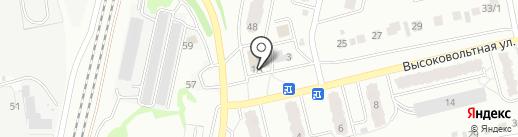 Жигули на карте Новоалтайска