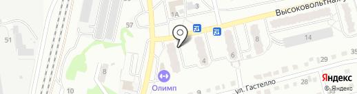 Надежда, ТСЖ на карте Новоалтайска