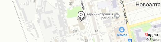 Домашняя кухня на карте Новоалтайска