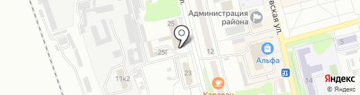 АвтоДом на карте Новоалтайска