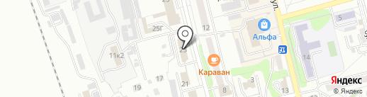 Алтайский региональный центр связи на карте Новоалтайска