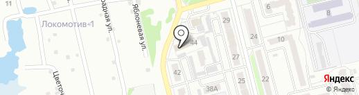 Прокуратура Первомайского района на карте Новоалтайска