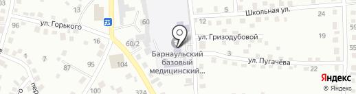 Барнаульский базовый медицинский колледж на карте Новоалтайска