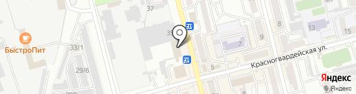 КБ Алтайкапиталбанк на карте Новоалтайска