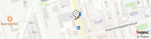 Адвокатская контора №2 на карте Новоалтайска