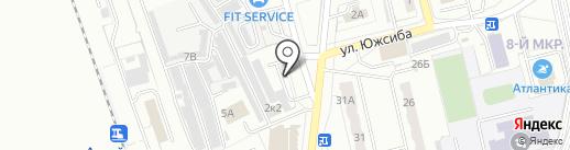 Стройматериалы на карте Новоалтайска