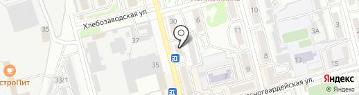 ДвериЛайн на карте Новоалтайска
