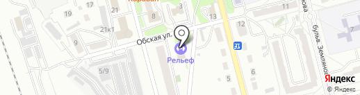 Юниор на карте Новоалтайска