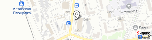 КанцМаркет на карте Новоалтайска