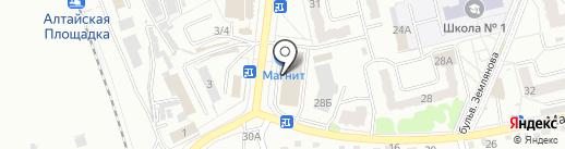 Корпорация Центр на карте Новоалтайска