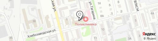 Мегалит на карте Новоалтайска