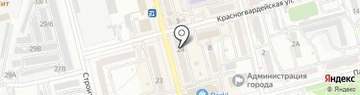 А-Радничек на карте Новоалтайска
