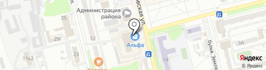 Орхидея на карте Новоалтайска