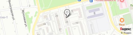 ФатО на карте Новоалтайска