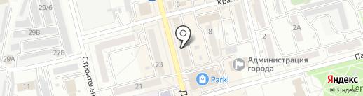 Облачко на карте Новоалтайска