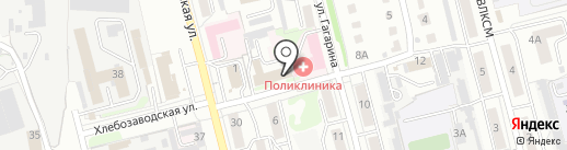 Астрея на карте Новоалтайска