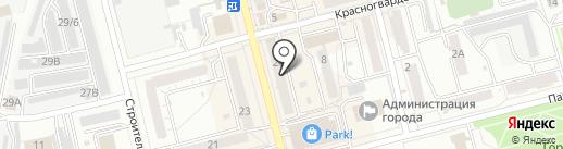 Совёнок на карте Новоалтайска