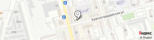 Банк ВТБ 24, ПАО на карте Новоалтайска