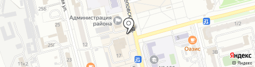 Dener Street на карте Новоалтайска