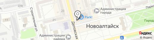 Velur на карте Новоалтайска