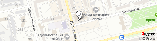 Билайн на карте Новоалтайска