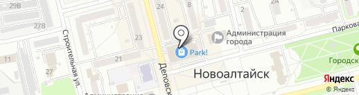 SANGER на карте Новоалтайска