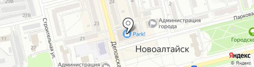 Brusnika на карте Новоалтайска