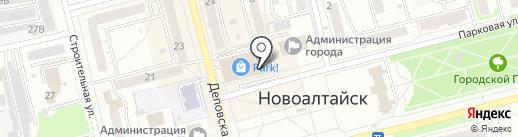 Гольфстрим на карте Новоалтайска